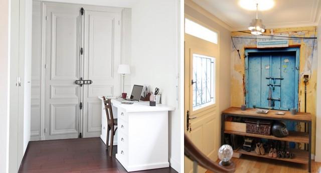 Les papiers peints trompe l 39 oeil de ohmywall joli place for Ou acheter porte interieur