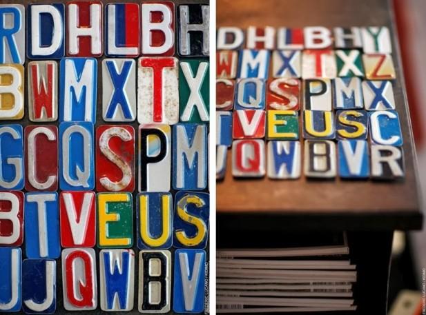 kidimo : des lettres déco vintage - joli place - Lettres Decoratives Cuisine