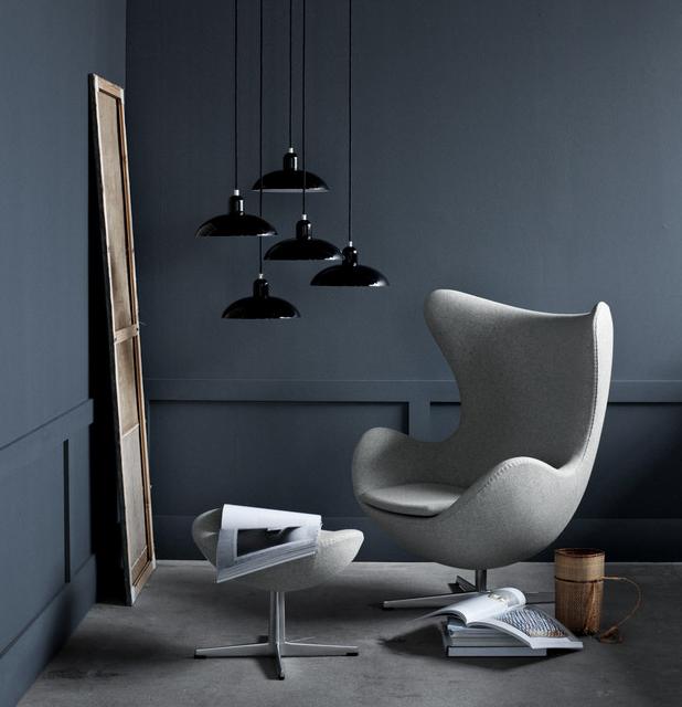Le Fauteuil Egg Du Designer Arne Jacobsen Joli Place
