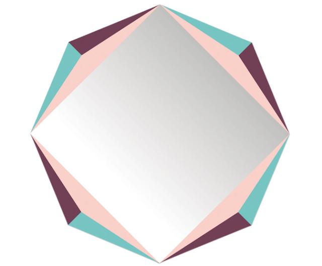 Les miroirs autocollants de domestic joli place - Miroir autocollant design ...