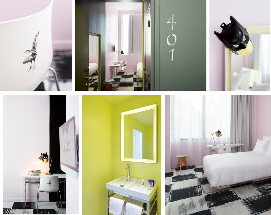 Mama shelter s 39 installe bordeaux joli place for Salle de bain hotel 5 etoiles