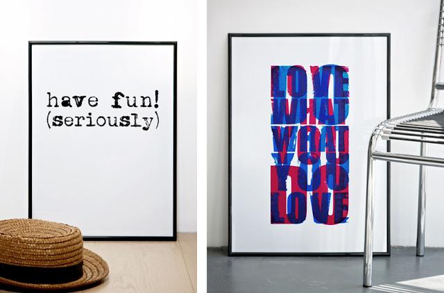 les affiches la typo r tro de coni lab joli place. Black Bedroom Furniture Sets. Home Design Ideas