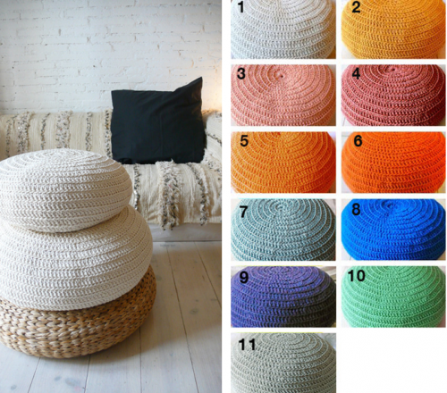 Customiser son pouf ikea joli place - Pouf design pas cher ...