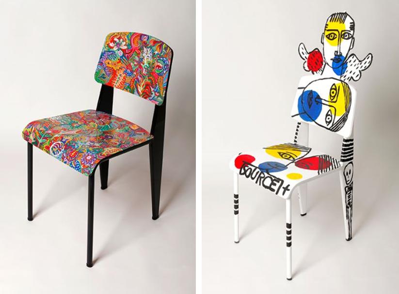 la chaise standard de jean prouv aux ench res joli place. Black Bedroom Furniture Sets. Home Design Ideas