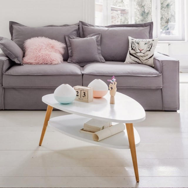 Esprit scandinave la redoute joli place for Tableau salon scandinave