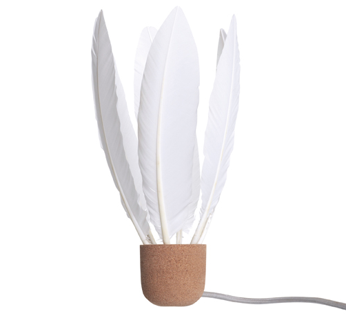 lampe plumes
