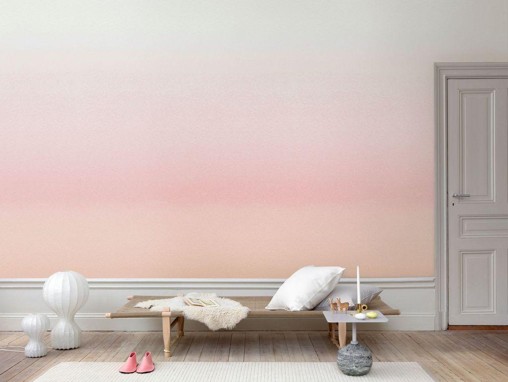 Des id es pour un mur effet dip dye joli place for Repeindre un mur deja peint