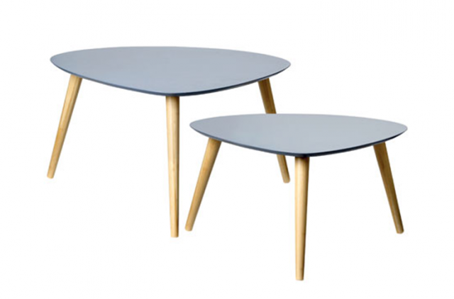Table basse tripode Table basse design scandinave pas cher