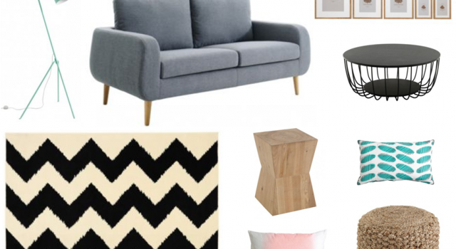 D corer un salon dans le style scandinave joli place for Lampe salon fly