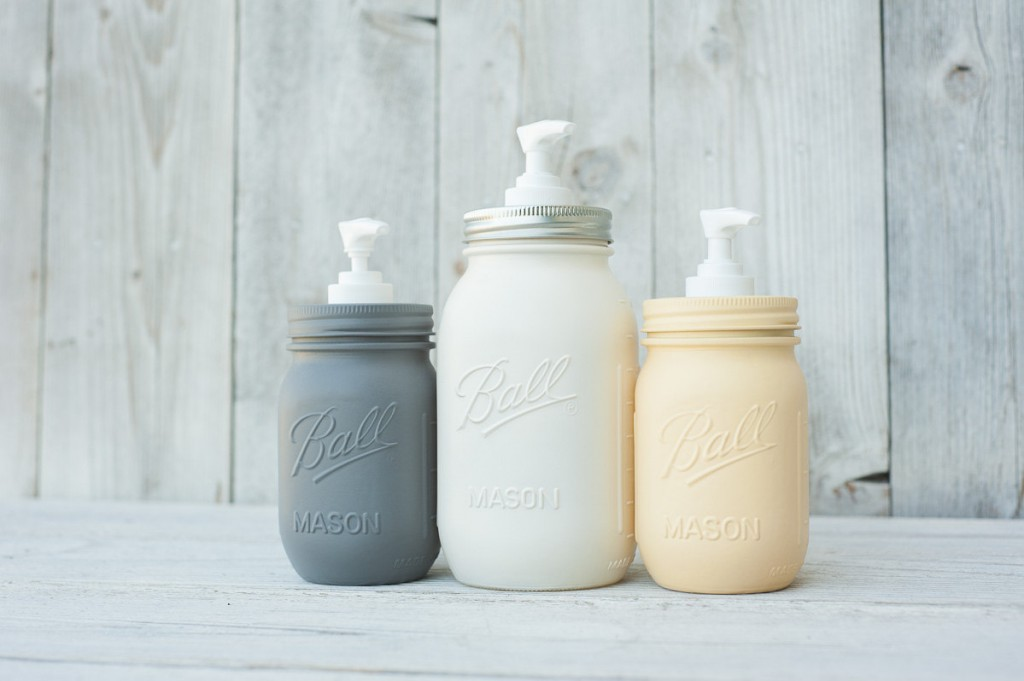 Mason jar bocal am ricain transform en distributeur for Bocaux decoration cuisine