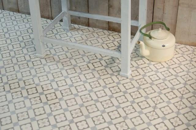 Inspirations pour un sol en carreaux de ciment - Joli Place
