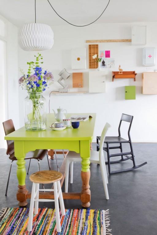 5 Idees Pour Repeindre Une Table Joli Place