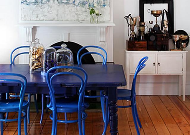 5 id es pour repeindre une table joli place for Quelle peinture pour le bois