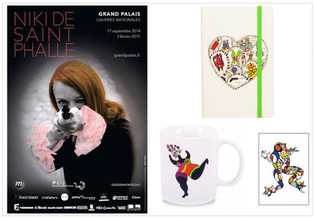 Agenda OCTOBRE 2014 niki de saint phalle