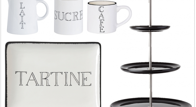 vaisselle noir et blanc scandinave nordique tasse cafe pot. Black Bedroom Furniture Sets. Home Design Ideas