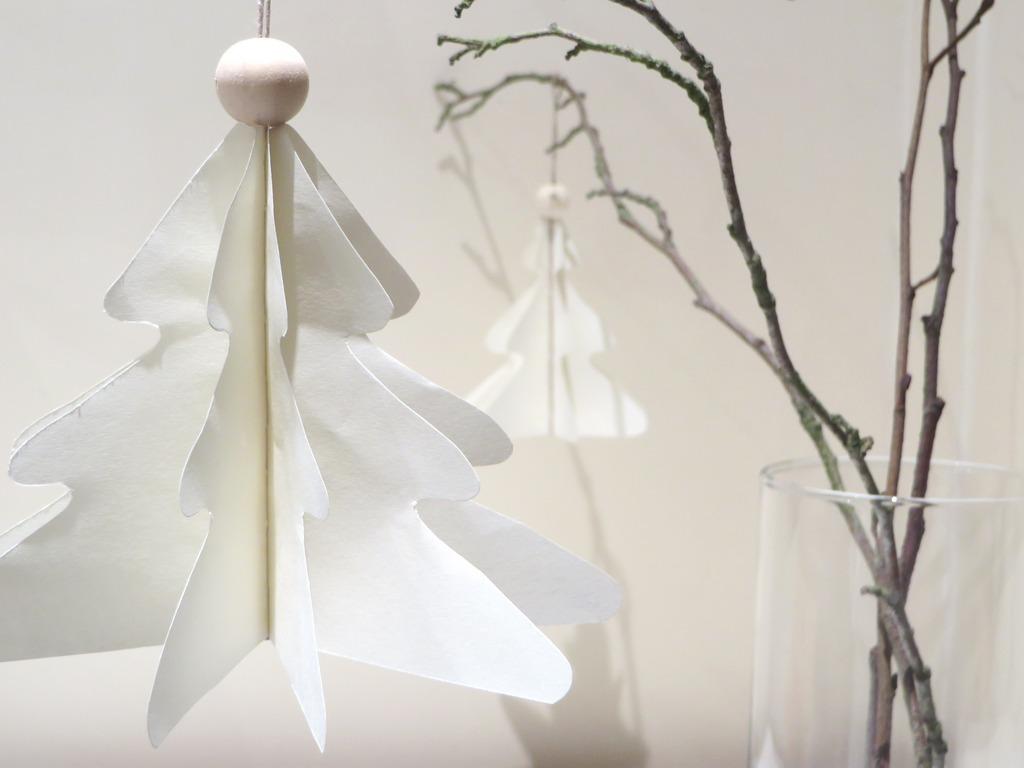 DIY : des ornements de Noël en papier - Joli Place