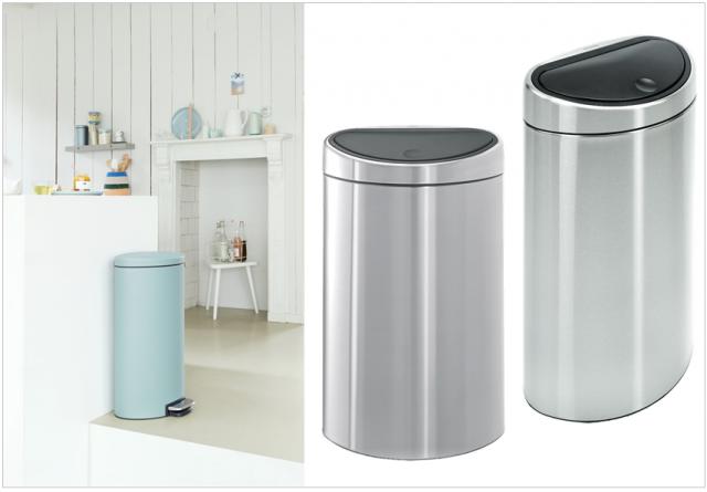 5 id es gains de place pour la cuisine joli place for Petite poubelle de cuisine