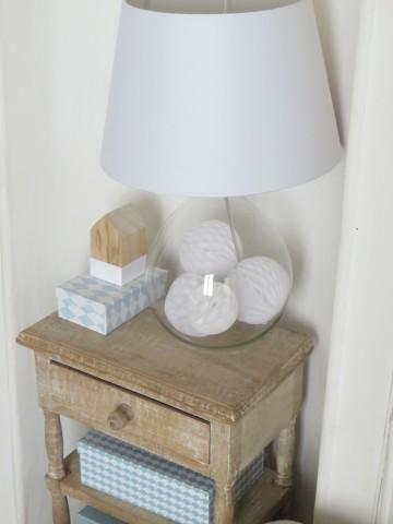 customiser une lampe en verre - joli place