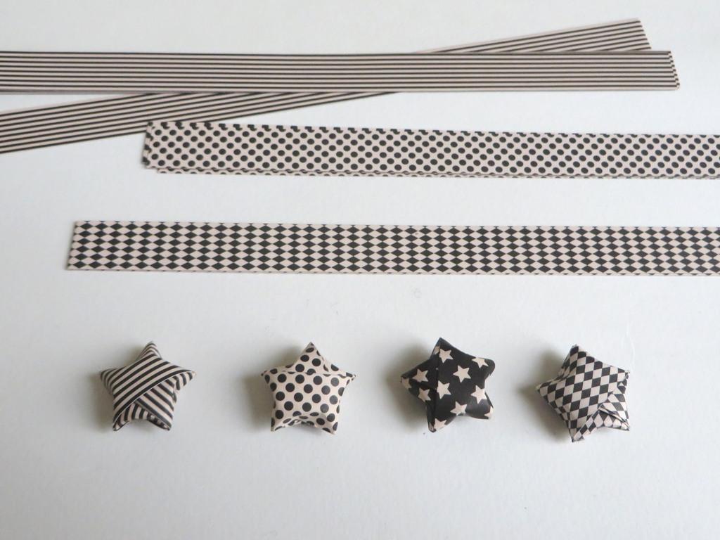 Comment fabriquer des étoiles en origami - Joli Place