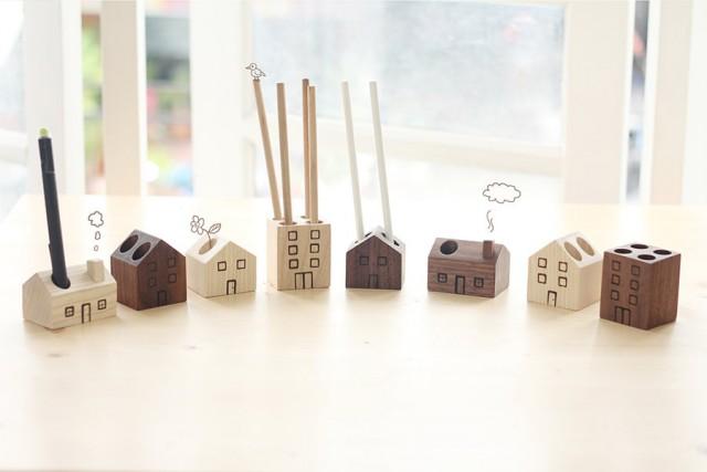 Les objets en bois de mink 39 s joli place for Objets decoratifs maison