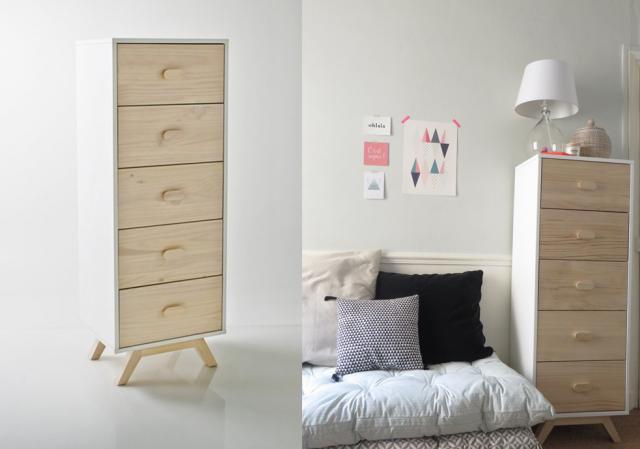 diy 3 id es pour customiser un chiffonnier joli place. Black Bedroom Furniture Sets. Home Design Ideas