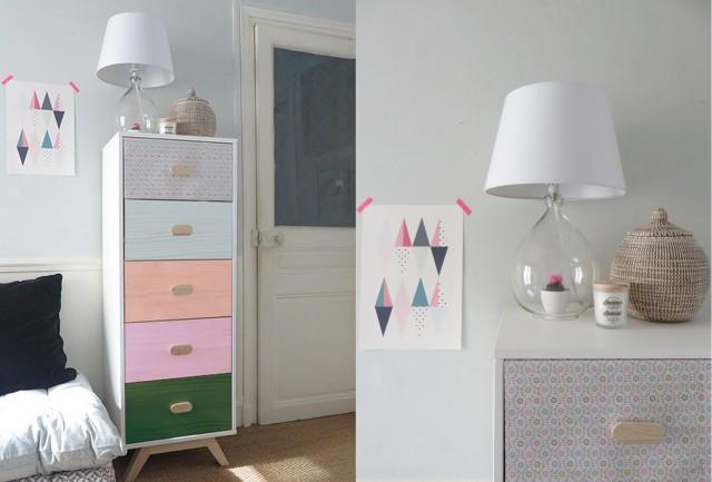 la redoute chiffonnier chiffonnier avec miroir. Black Bedroom Furniture Sets. Home Design Ideas