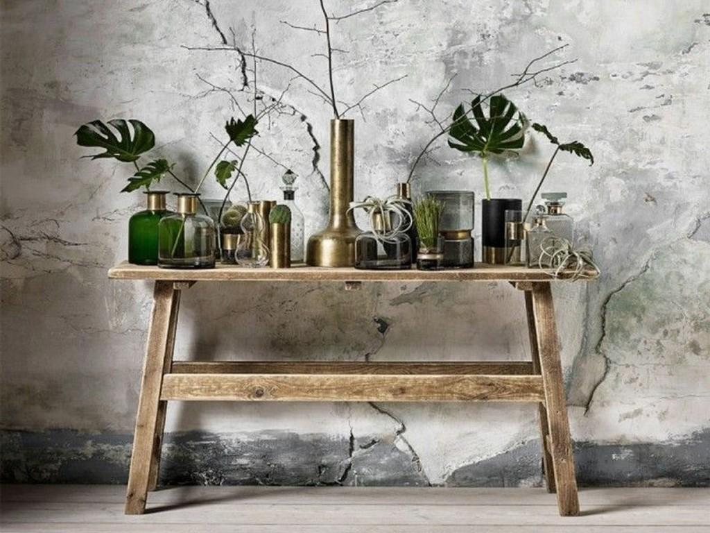 le charme du bois brut dans la maison joli place. Black Bedroom Furniture Sets. Home Design Ideas