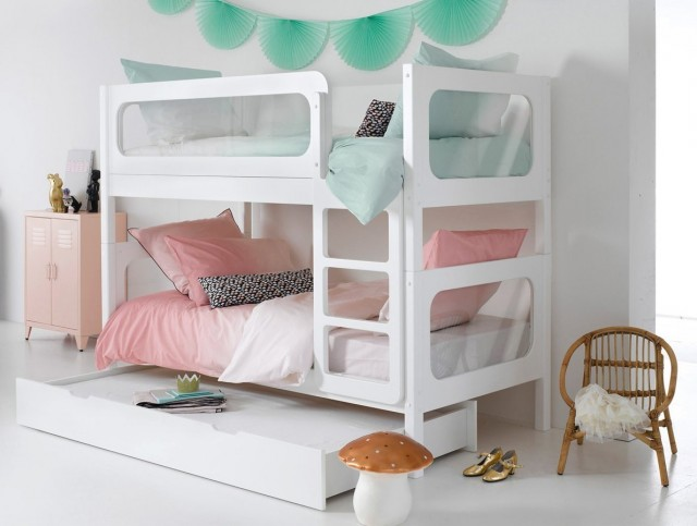 des lits superpos s s parables pour les enfants joli place. Black Bedroom Furniture Sets. Home Design Ideas