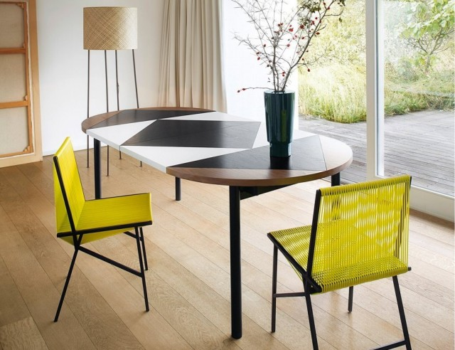 10 tables de repas rallonges joli place for Table design 8 personnes