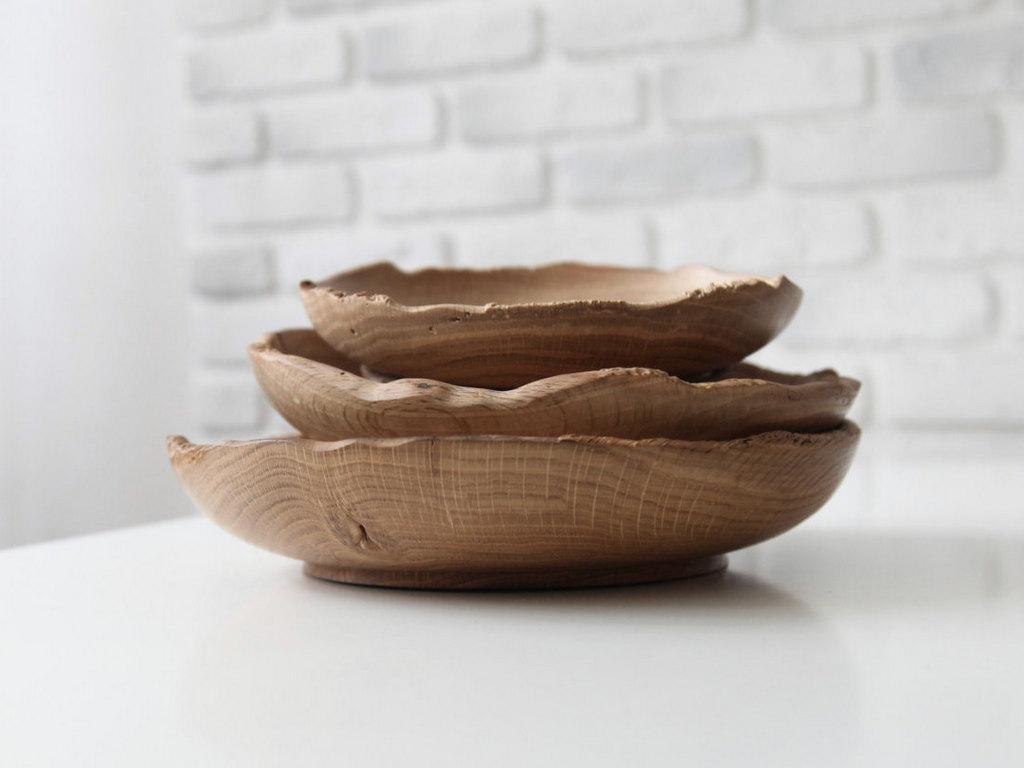 Du bois dans la cuisine et sur la table - Joli Place