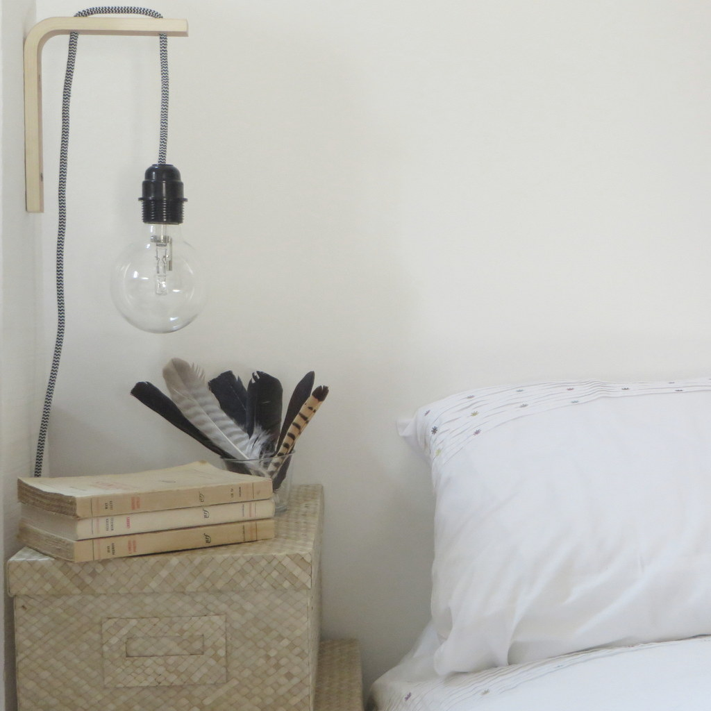 DIY : une lampe de chevet façon baladeuse - Joli Place