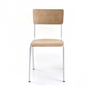 chaise de table style écolier