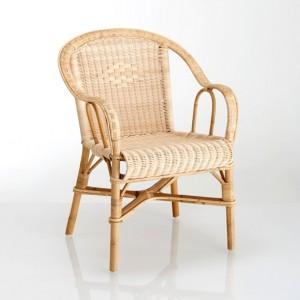 fauteuil en rotin classique