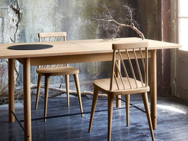 Une collection design d 39 inspiration scandinave joli place for Table a rallonge scandinave