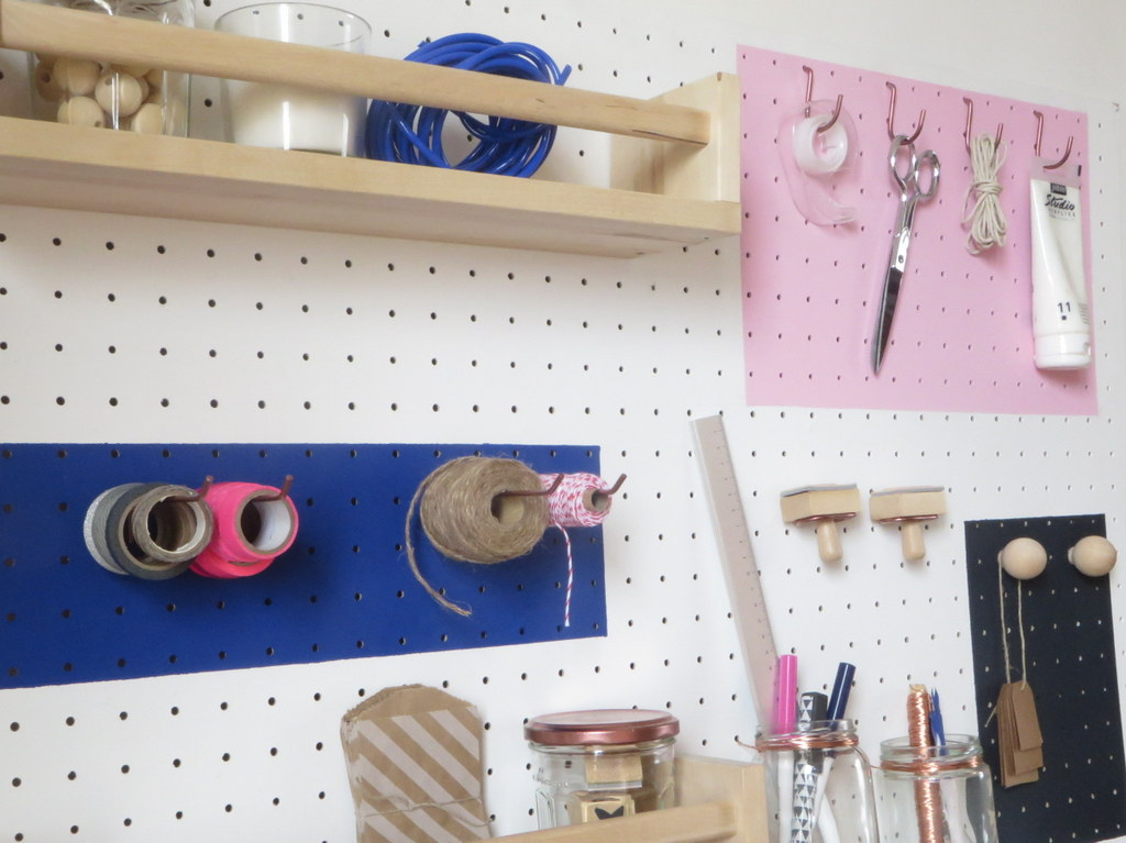 Fabriquer un organiseur de bureau mural - Joli Place