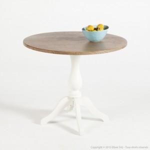petite table de repas ronde