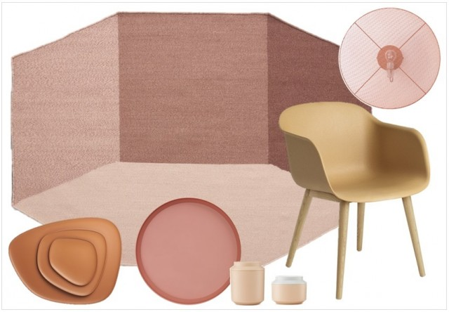 déco nude terracotta blush