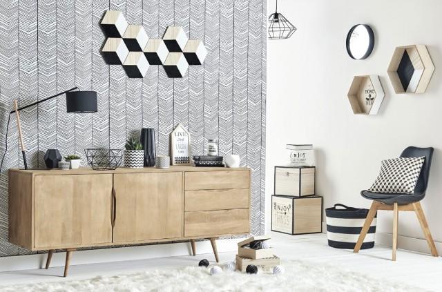 Design : Chambre Moderne Blanche Et Noir [Argenteuil 2632 ...