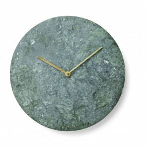Horloge en marbre vert