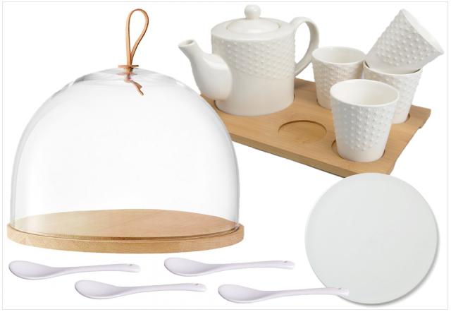 vaisselle blanche design