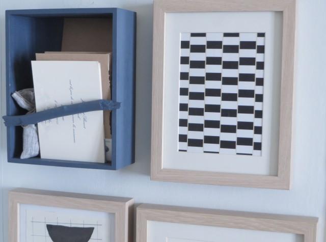 Diy : Fabriquer Un Porte-Courrier Mural - Joli Place