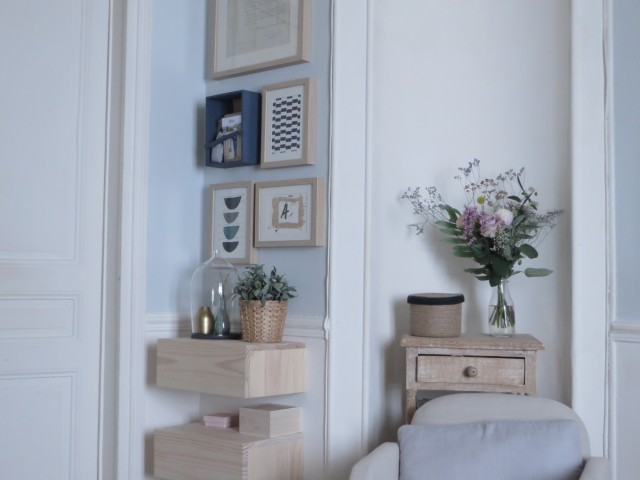 diy fabriquer un porte courrier mural joli place. Black Bedroom Furniture Sets. Home Design Ideas