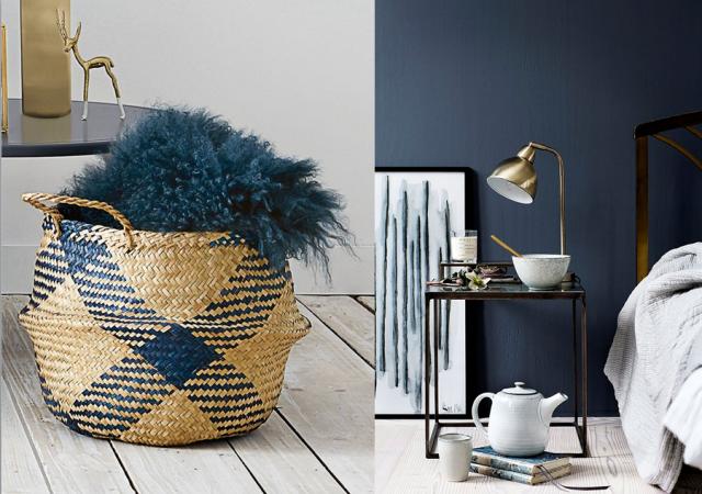 Stunning Chambre Bleu Marine Et Taupe Gallery - Design Trends 2017 ...