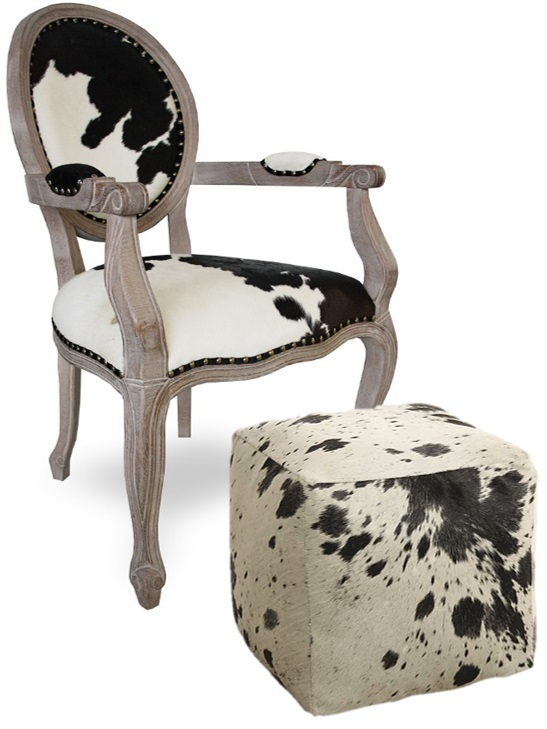 pouf peau de vache pouf bois et peau de vache pouf pdv en peau de vache pouf pleine peau. Black Bedroom Furniture Sets. Home Design Ideas