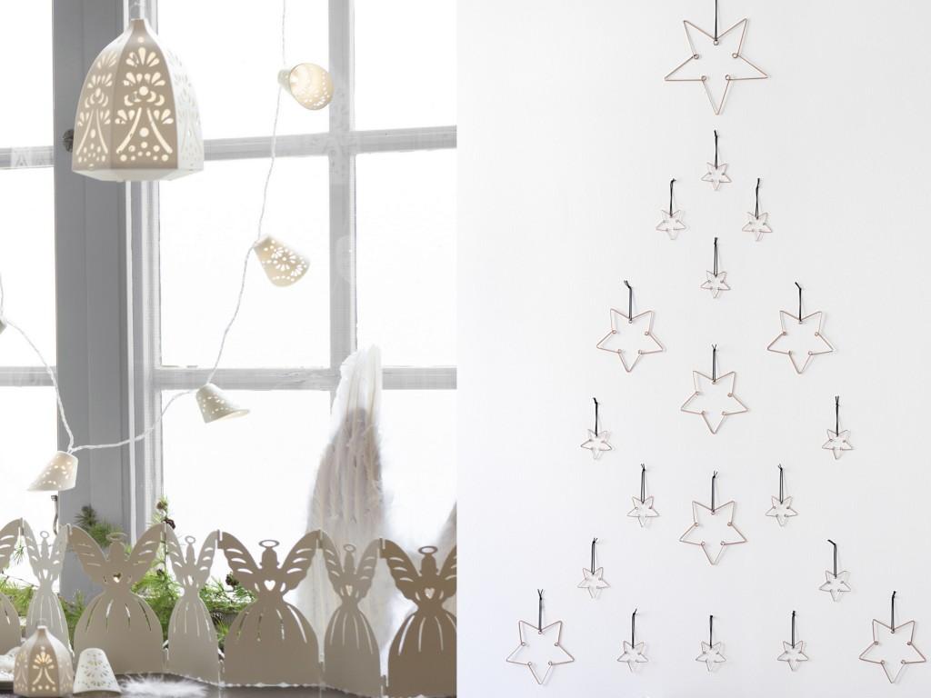 12 inspirations pour un no l blanc joli place. Black Bedroom Furniture Sets. Home Design Ideas