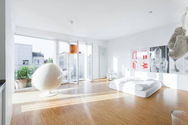 Loft blanc à Berlin