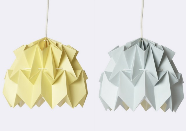 suspensions origami enfant