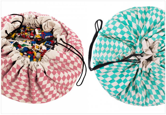tapis de jeu sac de rangement enfant