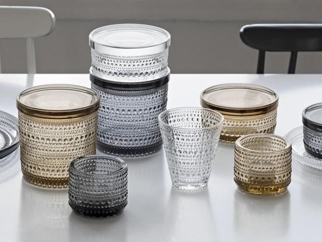 Vaissele design scandinave en verre