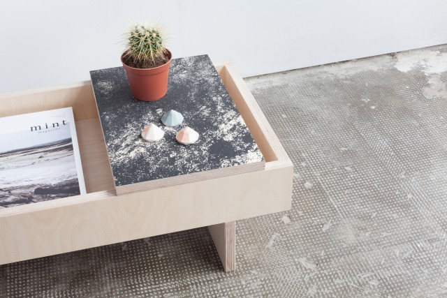 Table basse design Té Heju